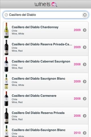 Wine-is Finder Скриншоты3
