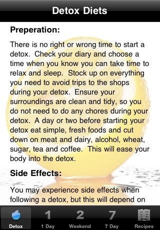 Detox Diets & Recipes