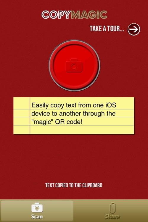 Copy Magic - Magically copy text and contacts between phones! screenshot-4