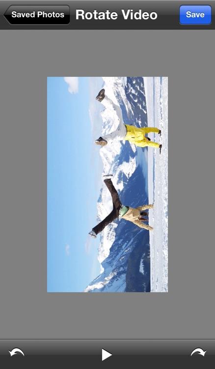 Rotate Video HD screenshot-4