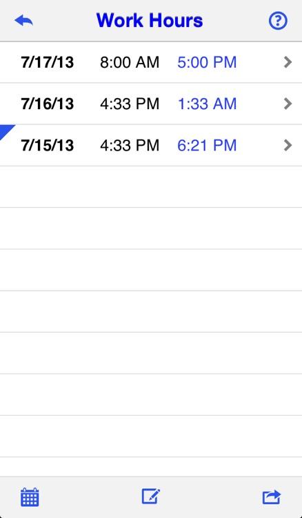 Daily Work Hours screenshot-3