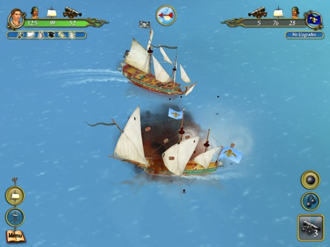 Sid Meier's Pirates! for iPad Screenshot