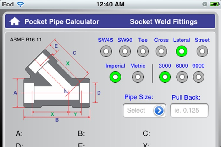Socket Pipe Calculator screenshot-4