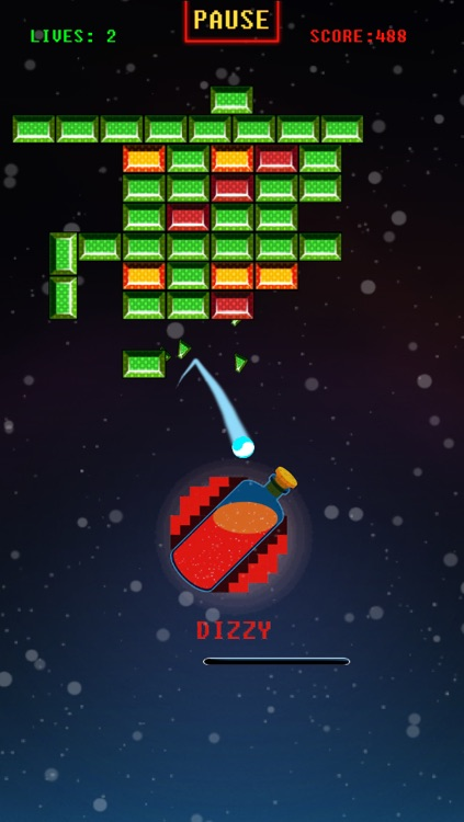 Space Bricks Breaker Free screenshot-4