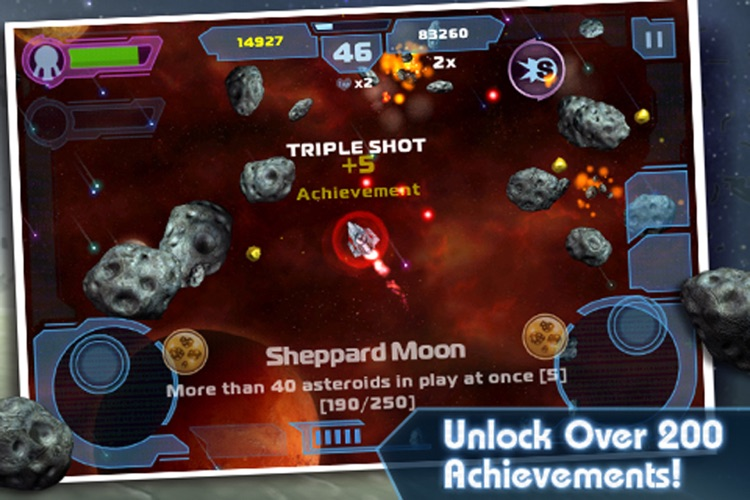 Asteroids: Gunner screenshot-3