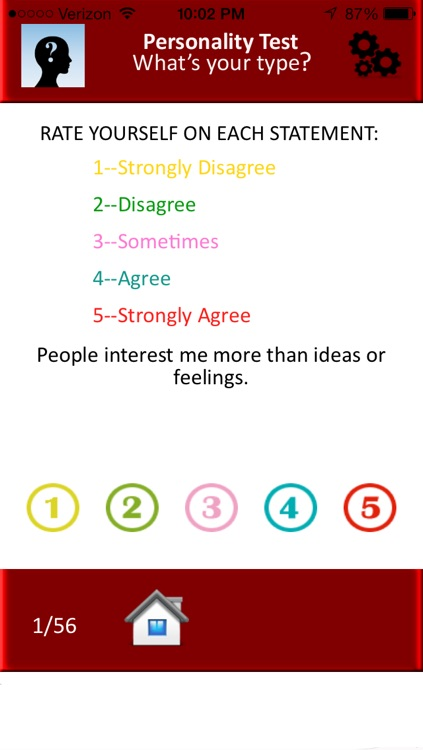 Personality Test - What is your type?