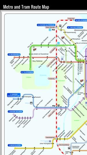 Amsterdam travel guide Amsterdam map offline Holland FYRA GVB bus