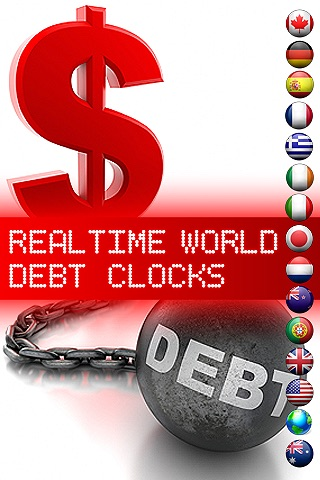 Real Time World Debt Clock