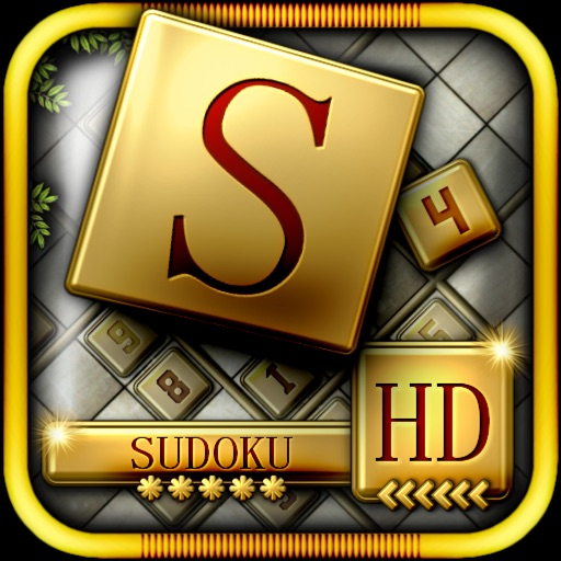 Golden Sudoku HD - classic puzzle games icon