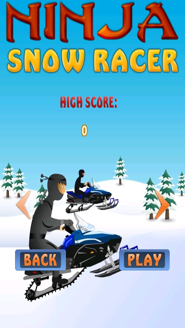 Ninja Warrior Snow Age Racer Free Speed Rally Snowmobile League