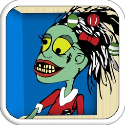 Zombie Christmas Advent Calendar FREE