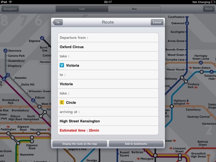 London Tube for iPad