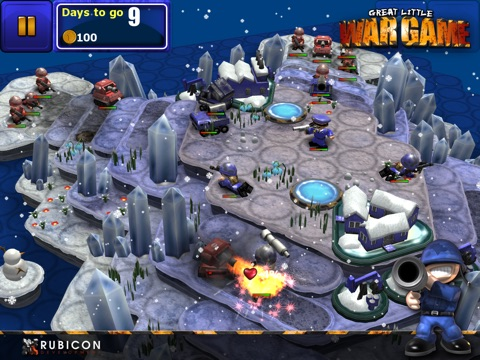 Great Little War Game HD на iPad