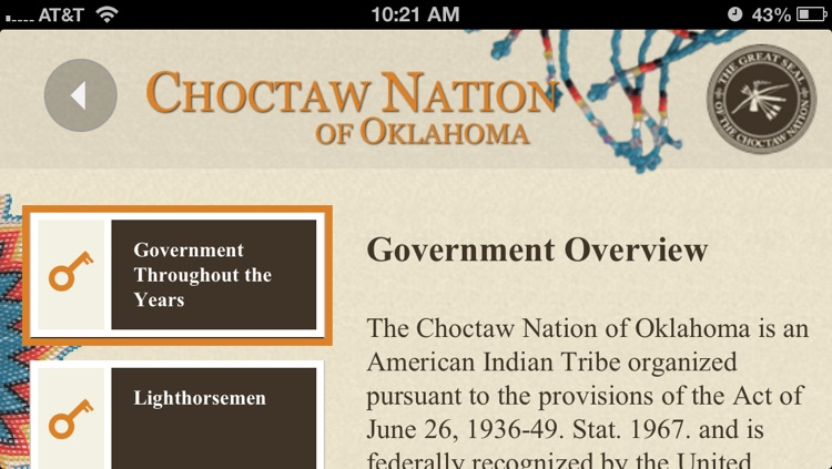 Choctaw Nation of Oklahoma Mobile App