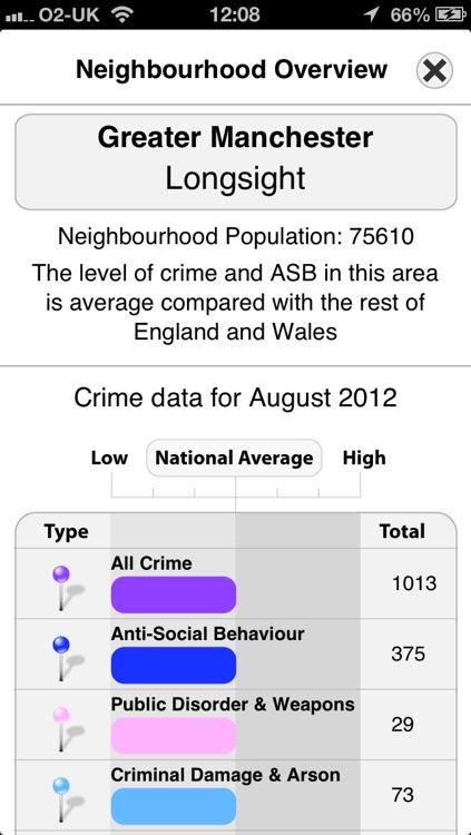 Crime Map England & Wales screenshot-3
