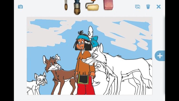 ausmalbilder indianer yakari