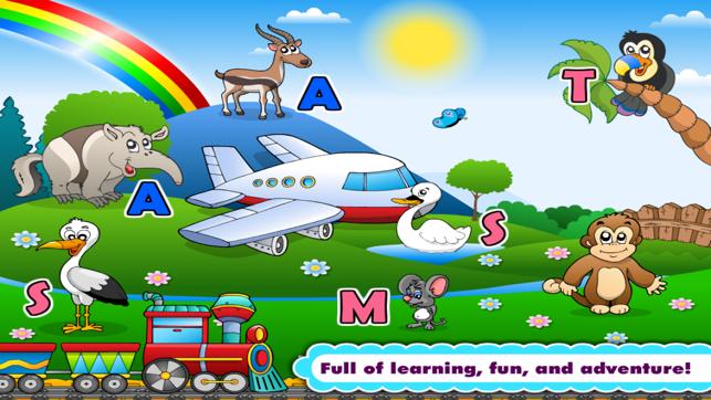 Phonics Island Letter Sounds games & Alphabet Learning Preschool