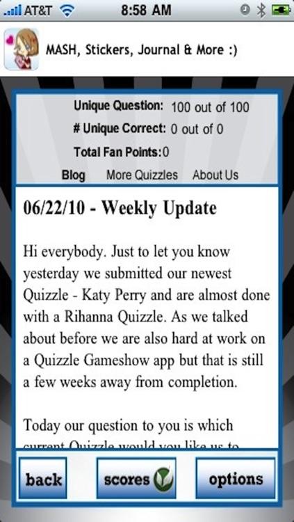 Rihanna Quizzle™ screenshot-3