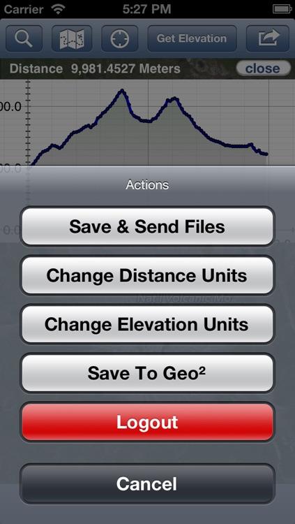 Geo Elevation: Map Elevation Chart Creator