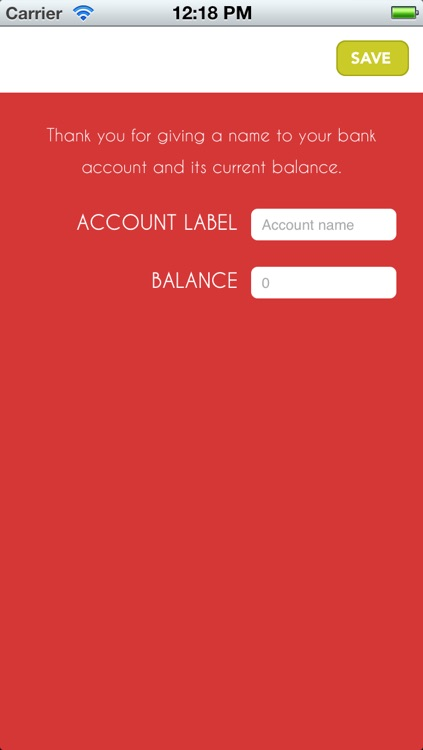 Bank in the pocket Lite screenshot-0