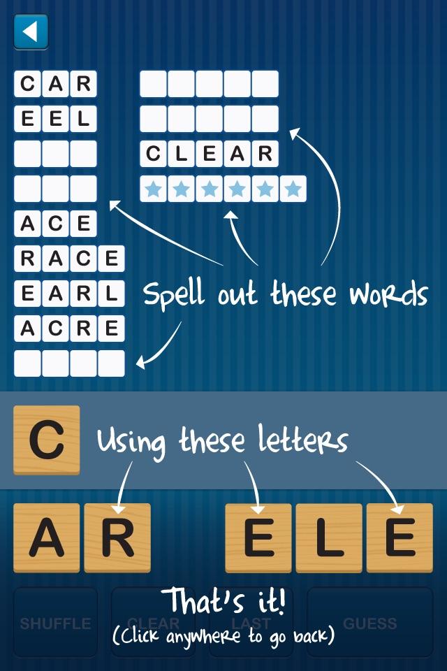 Anagram Twist - Jumble and Unscramble Text Screenshot