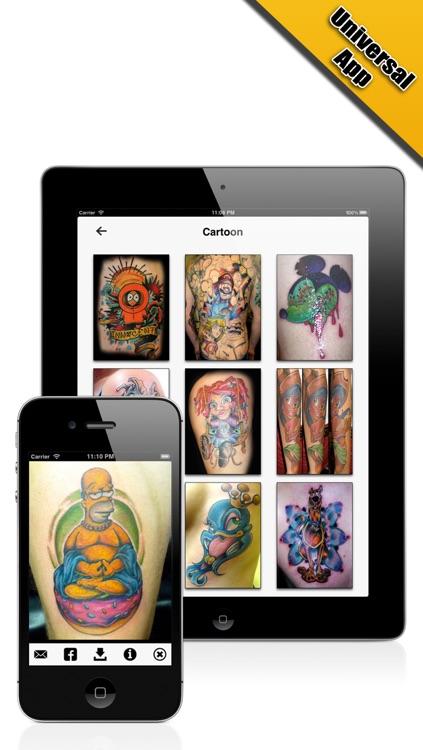 Tattoo Designs Pro screenshot-4