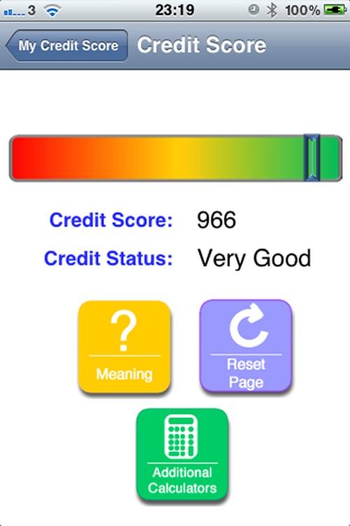 My Credit Score