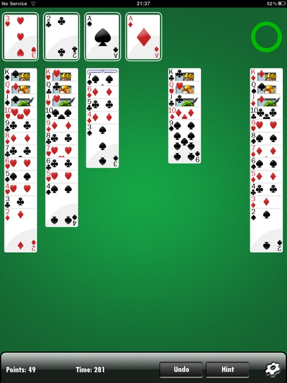Solitaire HD FREE screenshot-3