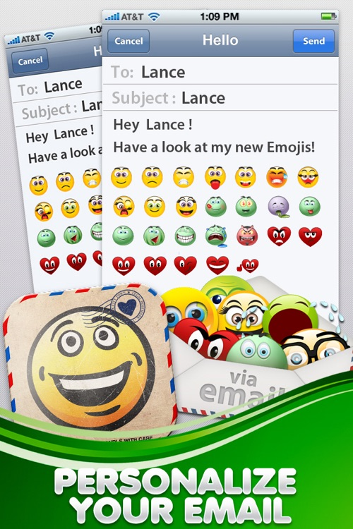 Super Emojicons- 400+ New Emoticons and New Photo Emoji Editor Feature! screenshot-3