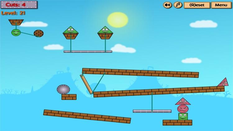 Kick The Red Block : Cut The Wood screenshot-3