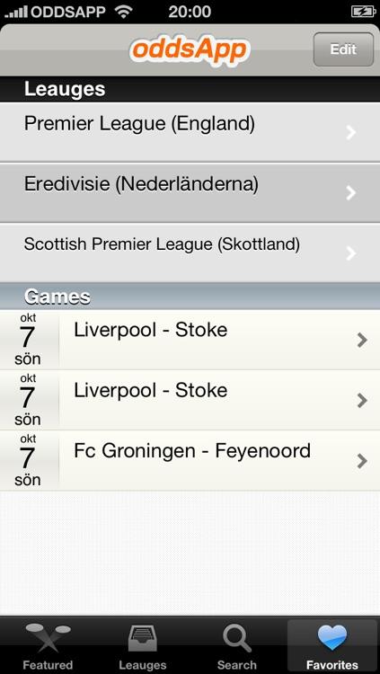OddsApp screenshot-4