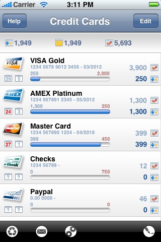 Credit Card Expense Manager
