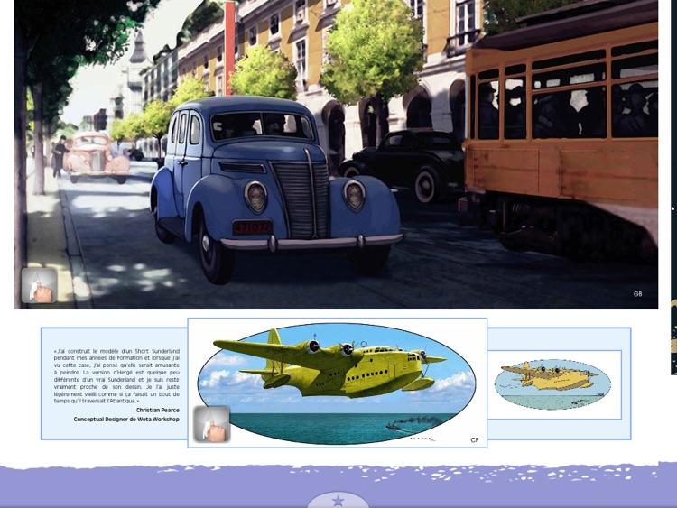 Artbook Les Aventures de Tintin screenshot-3