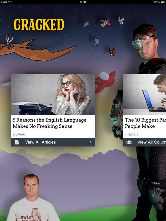 Cracked.com for iPad