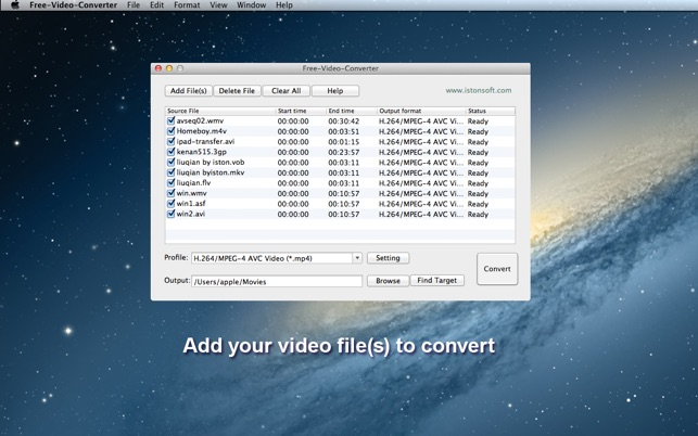 Free-Video-Converter on the Mac App Store