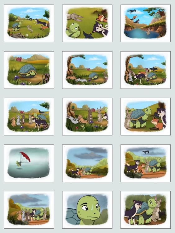 Tortoise and Hare: an Animated Aesop Children's Story Book screenshot-3