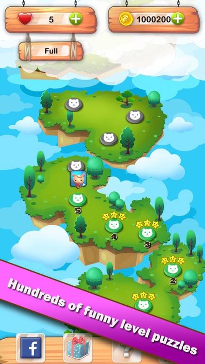 Pet Heroes - Free fun addictive matching 3 game