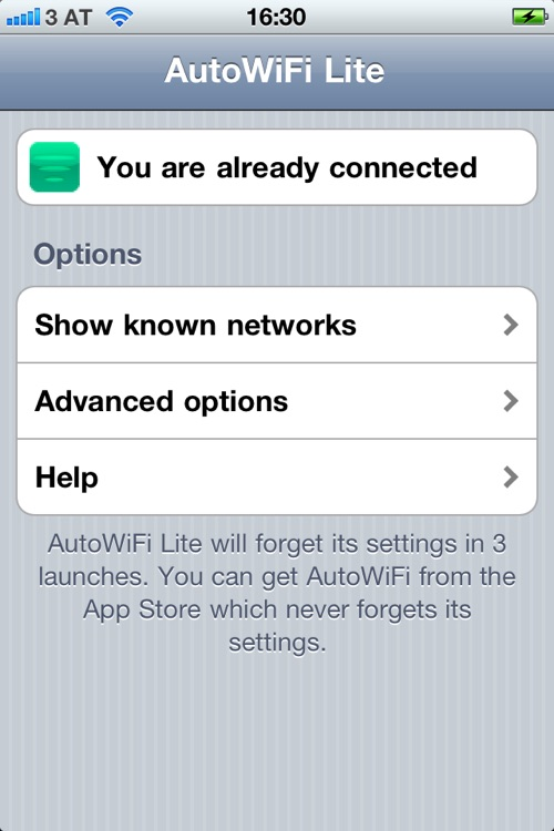 AutoWiFi Lite screenshot-1