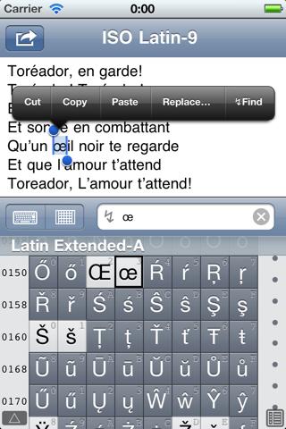 Unicoder Lite screenshot two