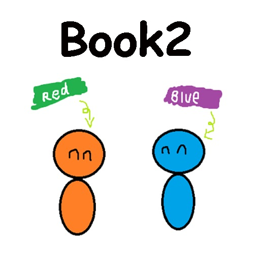 red blue 2 Ebook - Test time icon