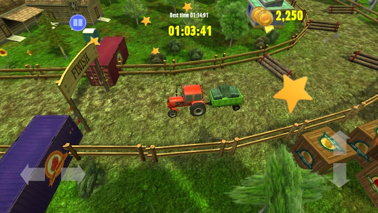 Tractor: Skills Competition - Farm Driver Skill Racing  Simulator Game screenshot-3