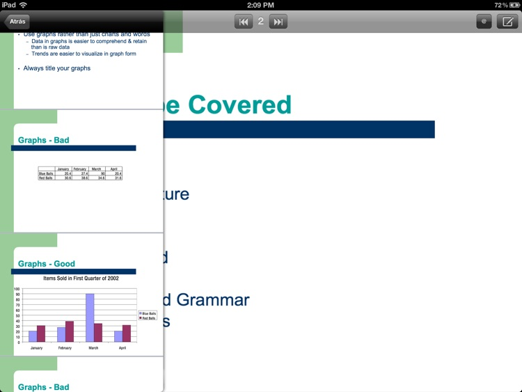 presentations viewer for ppt and PDF screenshot-1