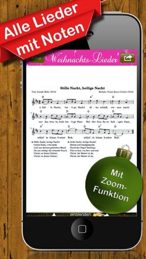 Coole Weihnachtslieder.Weihnachtslieder Musik Texte Für Weihnachten Im App Store