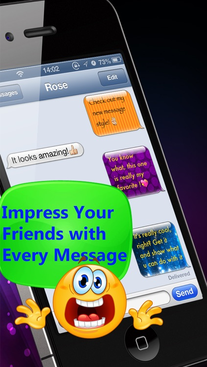 PIMP YOUR TEXT - COLOR MESSAGES WITH EMOJI 2 screenshot-4