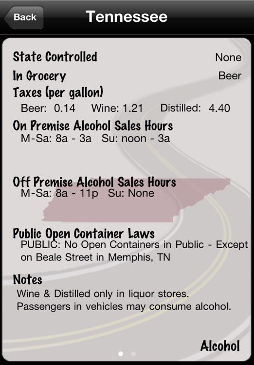 State Lines: Alcohol Laws screenshot-3