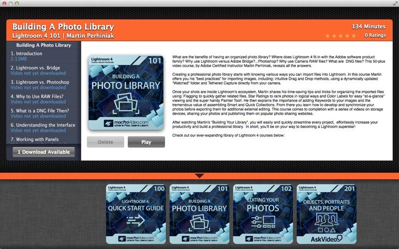 AV For Lightroom CS6 скриншот программы 1