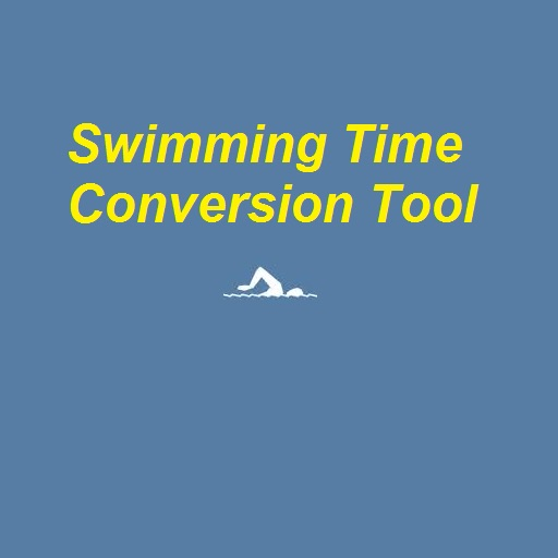Swimming Time Conversion Tool iOS App