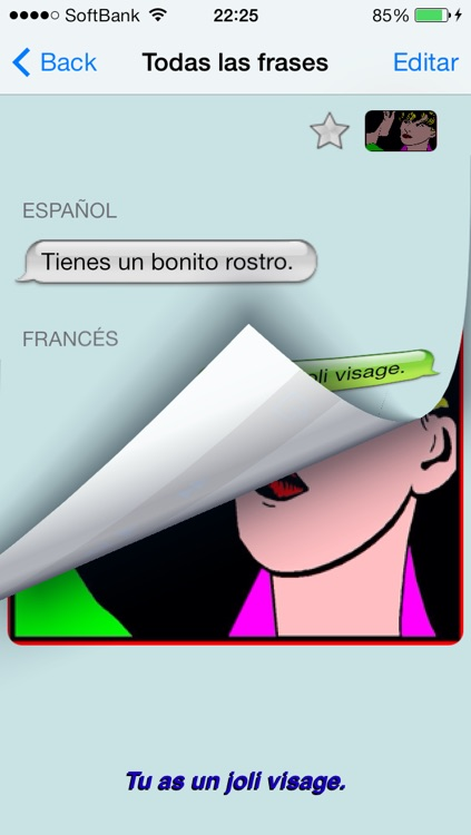 Francés - Talking Spanish to French Translator and Phrasebook