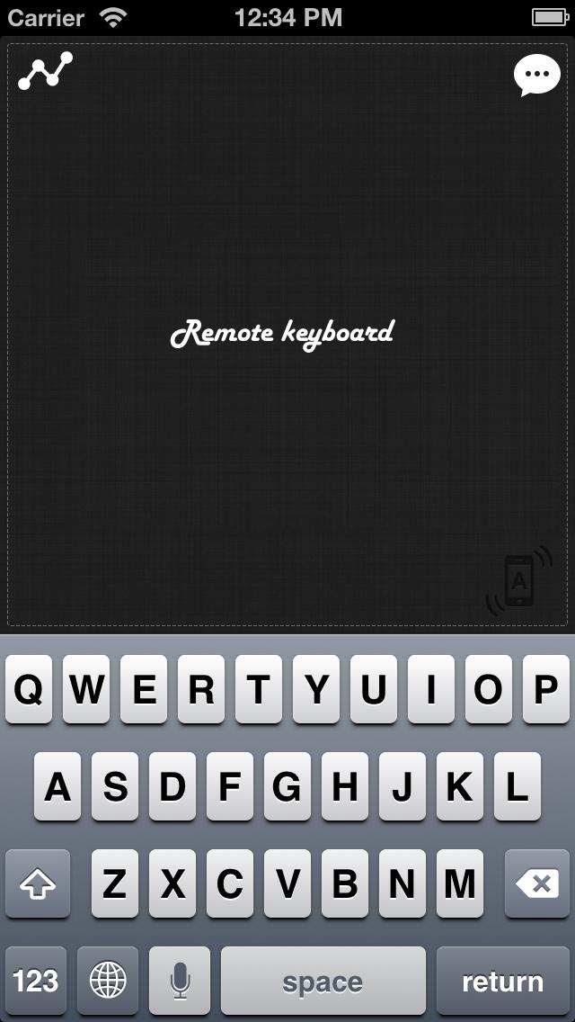 Foto do Remote Keyboard+ Lite (Wireless Keyboard & Trackpad)