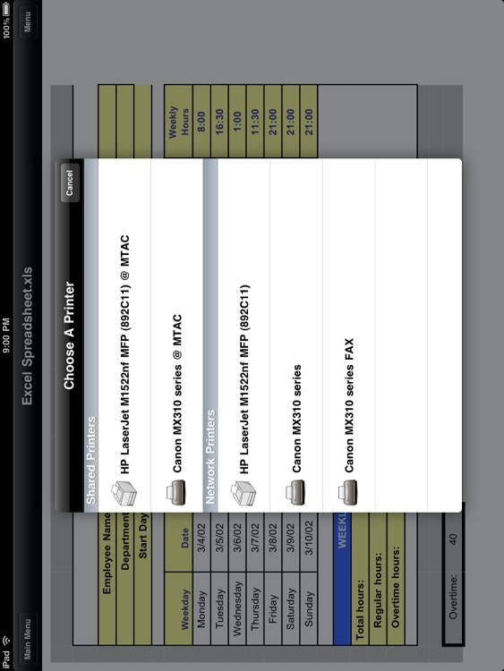 MobileToolz™ Pro - Print, Fax, Scan, use ext. Keyboard, Mobile Presentations, +More for iPad screenshot-3